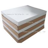 Placa rígida branca da espuma do PVC de Celuka, folha material do PVC da impressão,