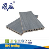 Decking impermeable al aire libre compuesto plástico de madera del suelo de la alta calidad antirresbaladiza WPC