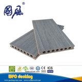 スリップ防止木製のプラスチック合成の屋外のフロアーリング防水WPCのDecking