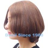 Peluca rubia europea del pelo humano
