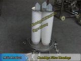 Caja del filtro de cartuchos de 3
