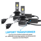 공장 및 LED 헤드라이트에서 4800lm 6000K H4 LED 차 빛을%s 가진 100W H7 차 LED 헤드라이트