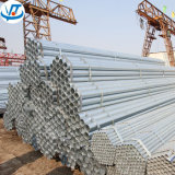 Tube en acier galvanisé par pipe de Gi de Ss400 Q195 Q235 A36