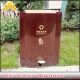 Fas-118 de lixo de metal galvanizado podem desperdiçar pode caixote do lixo