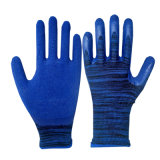 13G durable de la mousse bleue des gants en latex