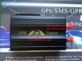 Nenhum perseguidor do carro do GPS da taxa mensal com o motor remotamente cortado
