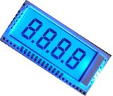 Monocromático 7 Segment LCD Display 3-Wire Serial Tn Positive