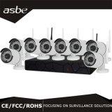 8CH 720p無線IP NVRキットCCTVの機密保護のホーム監視カメラ
