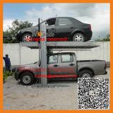 Garage de stationnement mécanique de véhicule de 2 étages de moteur d'automobiles