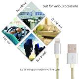 Кабель USB зарядного кабеля популярного нейлона кабеля молнии Braided для iPhone 6s