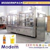 Equipamento de produção de enchimento quente automático do suco de fruta