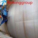 Máquina de acero del chorreo con granalla Cleanging de la pared externa del tubo