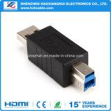 Тип USB 3.0 мужчина к 3.0 типу переходника конвертера разъём-розетка b