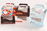 Maquinaria que corta con tintas y que arruga de la tarjeta de felicitación del Año Nuevo de la Navidad de la tarjeta de papel Ml750