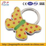 Encadenamiento dominante de la impresión del metal de encargo de la insignia con el anillo