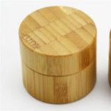 Choc crème en bambou avec le couvercle gravé