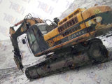 Marca famosa del Jcb dell'escavatore e nuovo escavatore utilizzato idraulico pieno