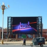 6mm Alquiler exterior HD Display de LED de color de publicidad en vallas publicitarias