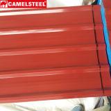 Lamiera di acciaio ondulata preverniciata del metallo della costruzione di edifici