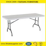 중국 공장 6FT 조정가능하 고도에 의하여 주조되는 플라스틱 최고 Foldable 테이블