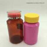 Pet plastic Food STORAGE Bottle/Christmas Candy pellet Bottle with eyelid