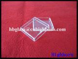 Contenitore di vetro del quarzo del silicone fuso di Manufacurer Transaprent
