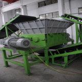 1200 mm를 위한 두 배 샤프트 슈레더는 절단과 재생을 피로하게 한다