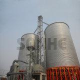 1000t de trigo de fundo plano para o Silo de Aço