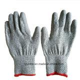 Серый цвет углерода Filber ESD для рук PU покрытием нейлоновые перчатки