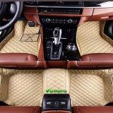 5D coche XPE Alfombrilla/COCHE/Pie Alfombra Mat para Hyundai autos con cobertura total de 360D