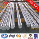 передача гальванизированная 110kv полигональные стальные Poles
