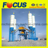 Pianta d'ammucchiamento concreta Hzs120 del nastro trasportatore del macchinario edile
