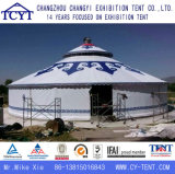 Barraca Mongolian de alumínio impermeável de Yurt do grande evento de Ehxibition