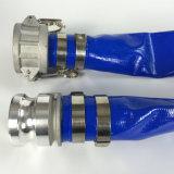 /Blu/rossa della pompa del PVC flessibile ad alta pressione dell'acqua tubo flessibile/tubo/tubo piani posti irrigazione gialla per irrigazione agricola