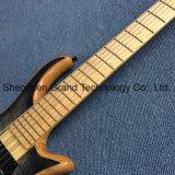 6 строки, бас-гитара горловину через корпус из красного дерева (ГБ-19)