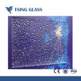 3-15мм цветного стекла с рисунком