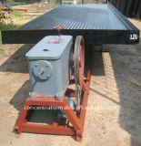 Máquina de separação de lata Mesa de agitação, Tabela separadora de lata