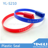 Length fixe Security Plastic Seals avec Number (YL-S210)