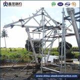 Estructura de acero para el taller con la certificación ISO