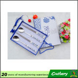 Steel di acciaio inossidabile Cutlery Set con Ceramic Handle