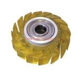 射出成形の黒ナイロン螺線形ギヤ車輪/白いPPのプラネタリ・ギア