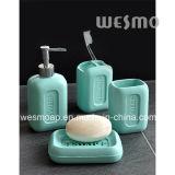 Banheiro de Polyresin da forma do sabão ajustado (WBP0935A)