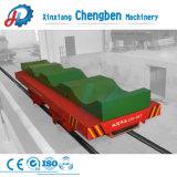 Preço baixo E-parar de funcionar com bateria Carrinho de transporte ferroviário
