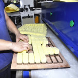 Machine de découpage hydraulique de presse de tissu d'éponge de cellulose de fournisseur de la Chine (hg-b30t)