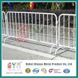 Гальванизированные барьеры управлением толпы безопасности барьера дороги движения пешеходные