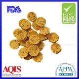 Veggie Popcornpan van de Kip van de Leverancier van China van de Snacks van de Hond van Qingdao de Ideale Beste