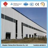 Estructura de acero de los paneles de pared de emparedado para el almacén