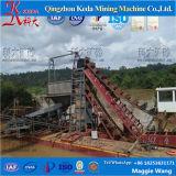 Fluss-Gebrauch-Goldförderung-Gerät, Goldbagger
