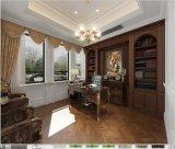 Le bois composite polymère épaisseur 9,5mm écologique Indoor WPC un revêtement de sol en vinyle