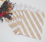 Sac de empaquetage de papier de faveur d'usager de couleur